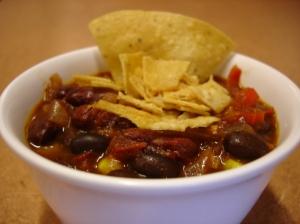 Weeknight Vegan Bean Chili