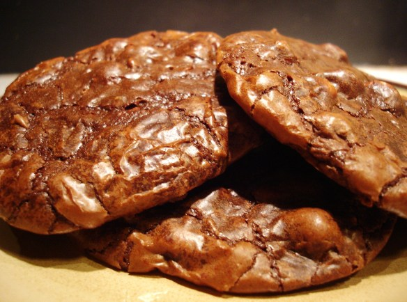 photo triple chocolate cookies