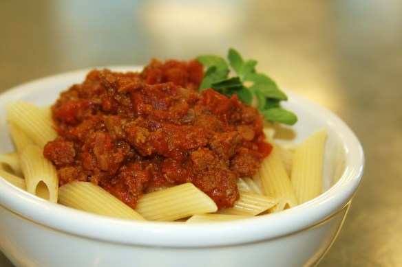 photo of meat sauce