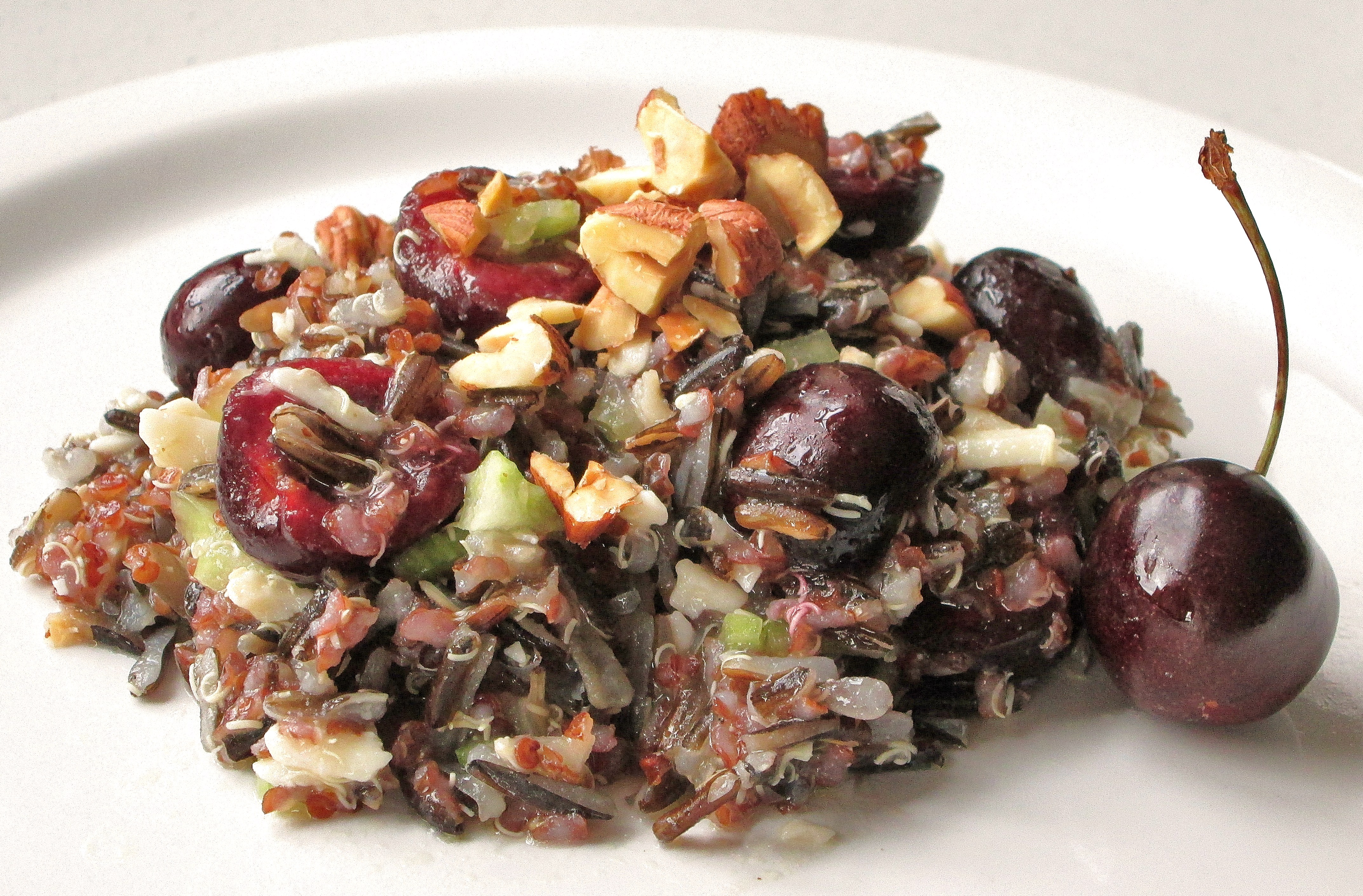 Cherry, Wild Rice, And Quinoa Salad © 2013 Sassy Sampler
